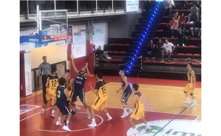 Basket C Gold, a Castel Guelfo non basta un super Amoni per fermare la capolista Fiorenzuola