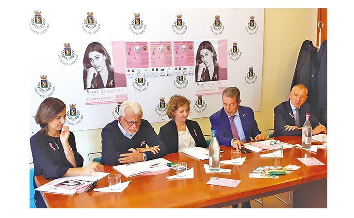 «Sport è salute» al Club Le Fonti per prevenire il tumore al seno insieme alla Lilt