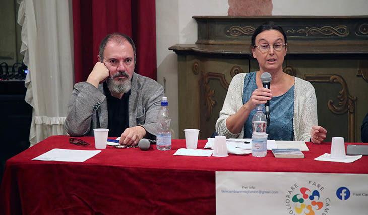 Intervista allo scrittore Carlo Lucarelli e alla docente Valentina Pazè. Il commento di Carmen Cappello presidente di Fare, Cambiare, Migliorare