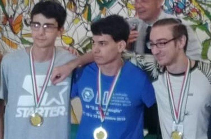 Olimpiadi italiane di Informatica, medaglia d'oro per Davide Bartoli