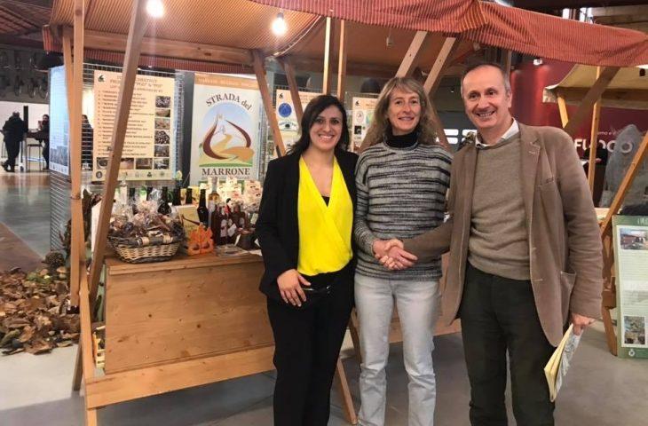 """Vallata del Santerno protagonista alla seconda edizione del """"Salone nazionale marroni e castagne d'Italia' a Fico"""