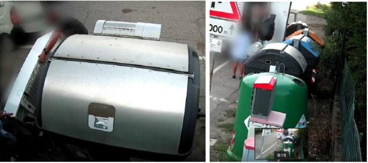 Abbandoni di rifiuti, sono un centinaio le infrazioni rilevate dalle telecamere nei mesi di agosto e settembre