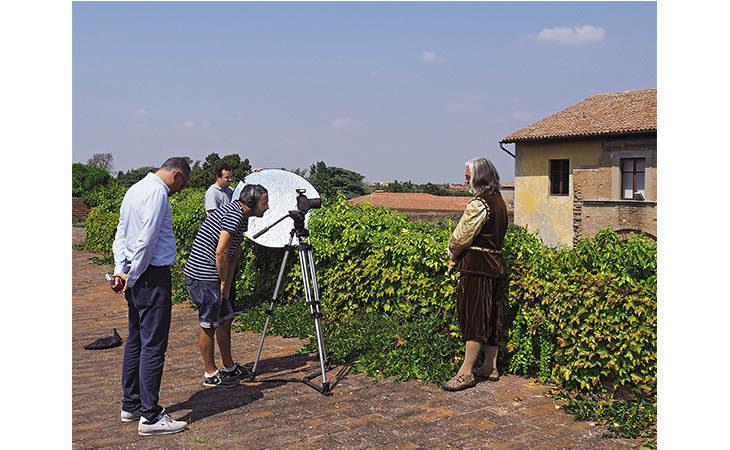 Video sullo smartphone per scoprire la Rocca di Imola insieme a Leonardo da Vinci