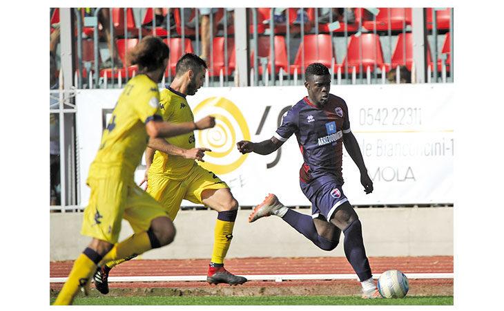L'attaccante dell'Imolese Bismark Ngissah si presenta: «Chiamatemi pure Mario, ho energia per esplodere»
