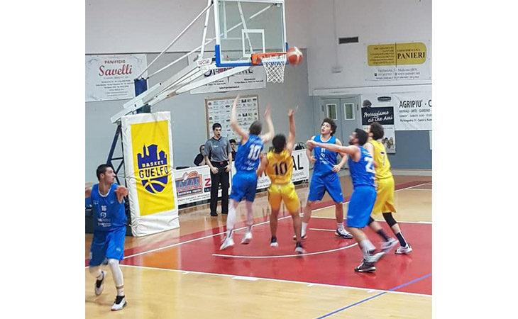Basket C Gold, anche Montecchio passa al palaMarchetti di Castel Guelfo