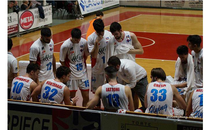 Basket serie B, che tonfo per la Sinermatic Ozzano a Piacenza
