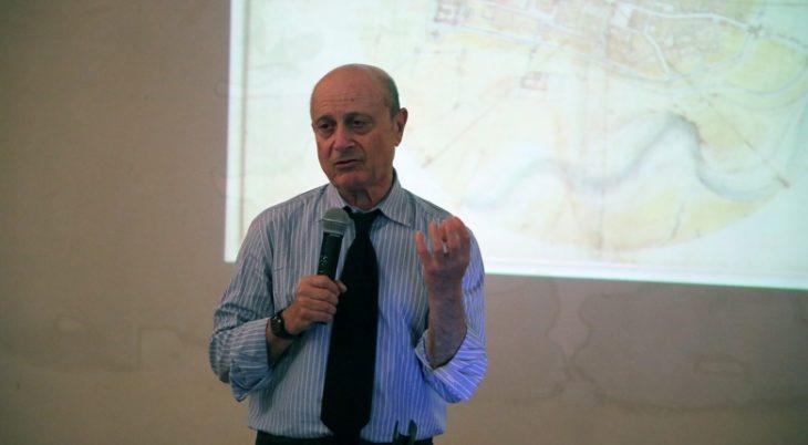 Franco Farinelli e i segreti della mappa di Imola di Leonardo – IL VIDEO
