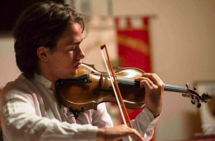 Prima serata della stagione 2019-2020 dell'Accademia pianistica con il violinista Gibboni e la pianista Redaelli