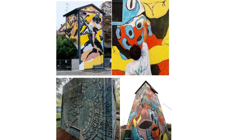 Rigenerazione urbana, continua il progetto Tag che trasforma le cabine di luce e gas in opere d'arte