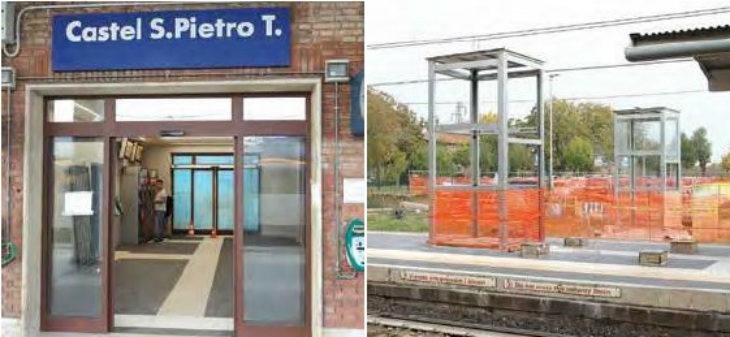 Prevista per fine anno la conclusione dei lavori alla stazione ferroviaria di Castel San Pietro Terme