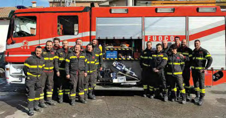 I vigili del fuoco volontari di Medicina a caccia di 25.000 euro per rimettere in sesto un'autopompa