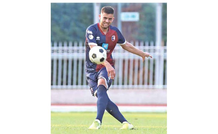 Calcio serie C, in vista di Pesaro parola alla «diga» dell'Imolese Isnik Alimi