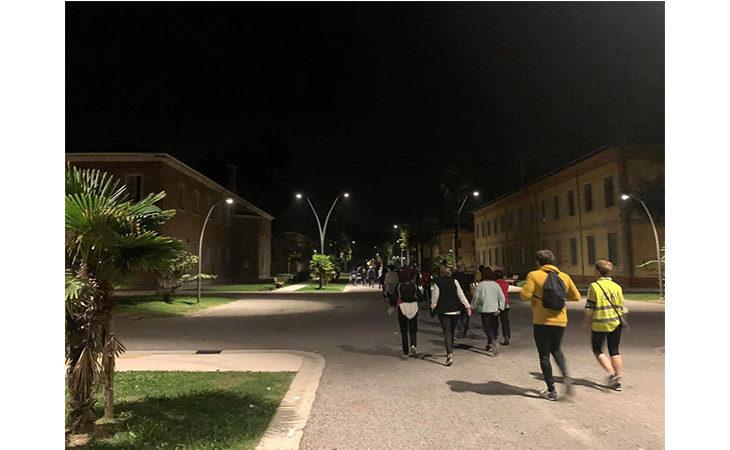 «Camminacittà», a Imola dalla Bocciofila si va in direzione «Pontesanto»