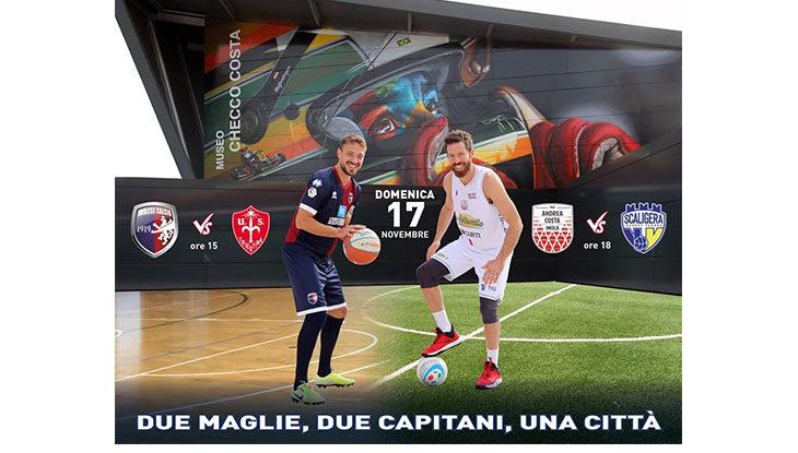 «Due maglie, due capitani, una città», Imolese e Andrea Costa unite domani per gli abbonati