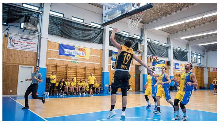Basket C Gold, serata da dimenticare per la Intech Imola a casa di Bologna Basket