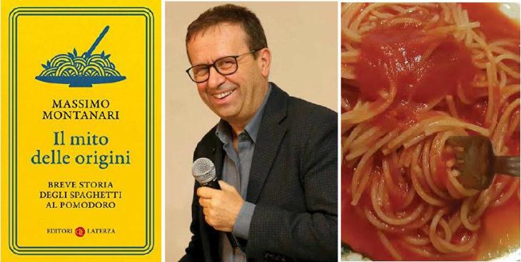 La storia degli spaghetti al pomodoro e il mito delle origini nel libro che Massimo Montanari presenta al Baccanale