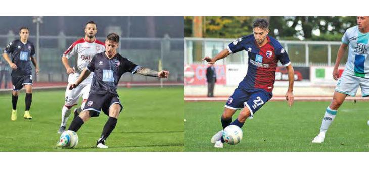Calcio serie C, intervista «doppia» ai giocatori dell'Imolese Marcucci e Valeau