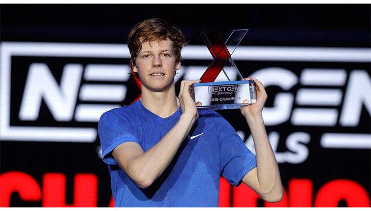 Tennis, il talento italiano Jannik Sinner «versione Bocciofila»: «Una testa superiore alla media»