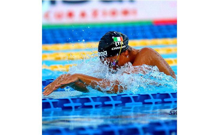 La nuotatrice Martina Carraro atleta dell'anno, i Veterani imolesi celebrano il bronzo ai Mondiali