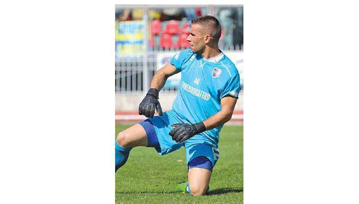 Calcio serie C, il portiere dell'Imolese Gian Maria Rossi: «Ora dietro siamo solidi, proseguiamo con fiducia»
