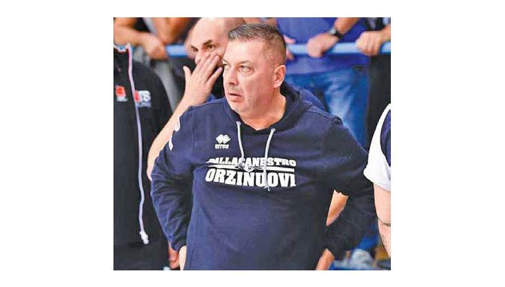 Basket A2, coach Salieri dopo l'esonero ad Orzinuovi: «Sono le regole del gioco»