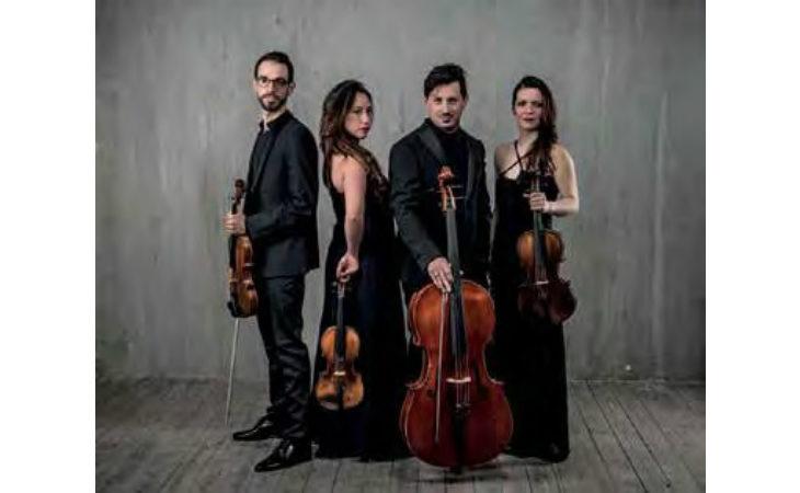 Proseguono i concerti dell'Accademia con l'esibizione del Quartetto Indaco su musiche di Beethoven