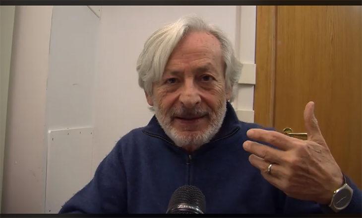 """Intervista a Leo Gullotta: """"L'Emilia Romagna è differente, per la vostra storia di lotte per il lavoro e rispetto degli altri, e si mangia benissimo'"""