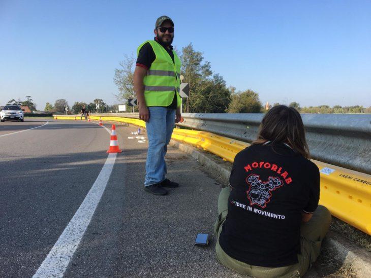 Più sicurezza sulla Via Emilia con i nuovi guard rail salva motociclisti di MotorLab a San Lazzaro