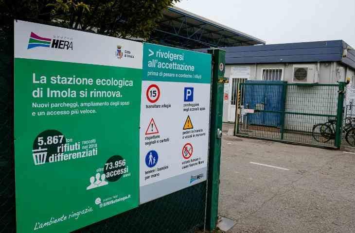 Stazione ecologica di Imola chiusa da domani a giovedì per lavori