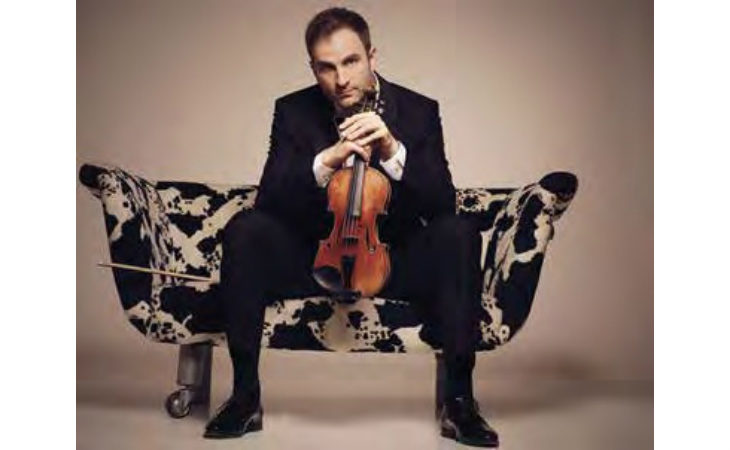Il violinista Stefan Milenkovich a Imola per l'Erf insieme all'Orchestra della radiotelevisione slovena