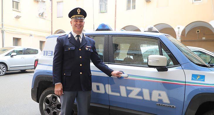 Vittorio Neri comandante della polizia stradale di Imola