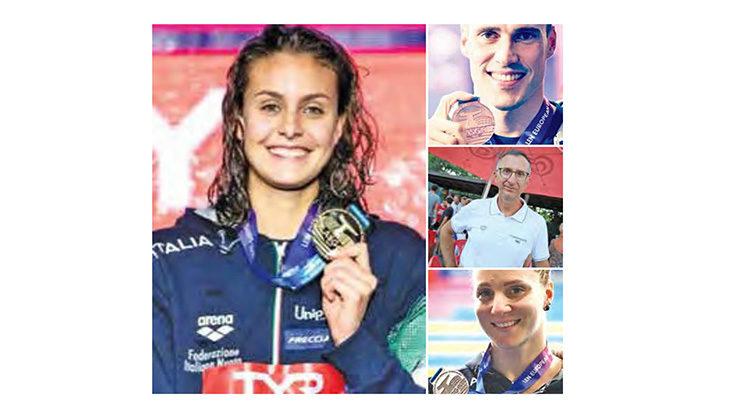 L'allenatore dell'Imolanuoto Cesare Casella commenta le medaglie agli Europei in vasca corta di Glasgow