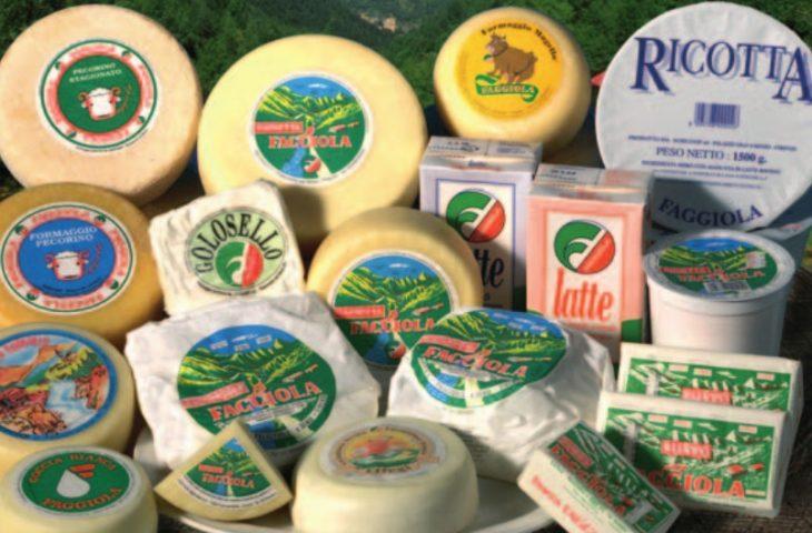 I formaggi «Faggiola» nel paniere della Clai