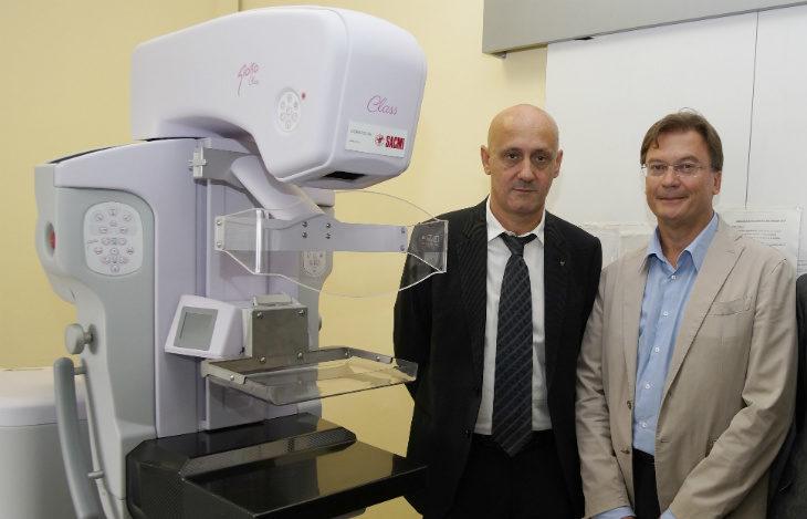 In occasione del centenario dalla sua fondazione la Sacmi dona una nuova risonanza magnetica all'Ausl di Imola