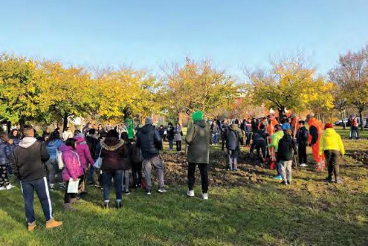Sono quasi 200 gli alberi piantati a Medicina in onore dei bambini della città nati nel 2018