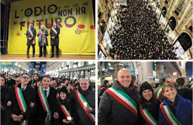 La testimonianza della sindaca di Casalfiumanese dopo la manifestazione di Milano a sostegno di Liliana Segre