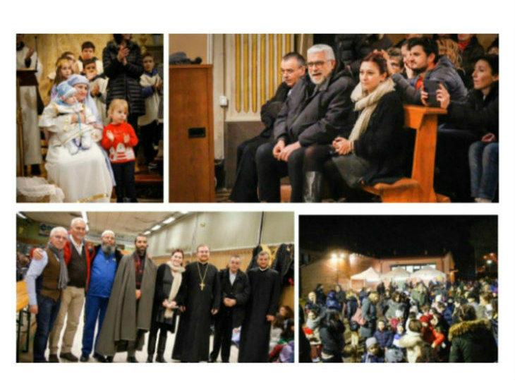 Anche la comunità ortodossa e quella musulmana erano presenti al presepe vivente di Casalfiumanese