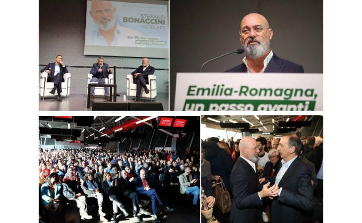 Semaforo verde all'autodromo per Stefano Bonaccini, quasi 300 i candidati in campo per il centrosinistra