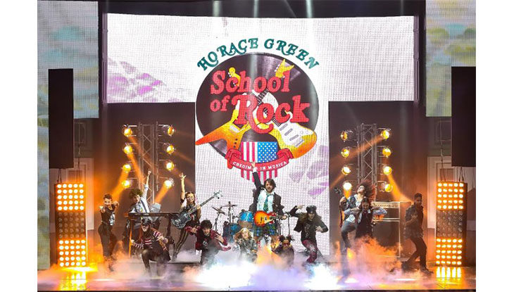 Da domani allo Stignani in scena il musical School of Rock