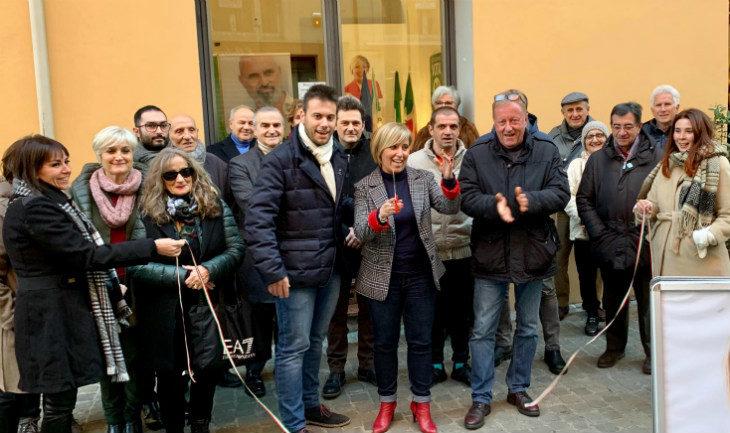 Inaugurata a Imola la sede della candidata Pd alle elezioni regionali Francesca Marchetti