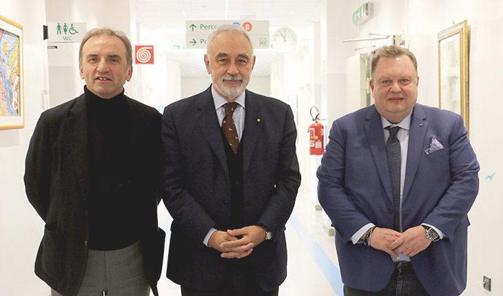 """Il commissario Izzo in visita a Montecatone: """"Giusto puntare sulla ricerca'. Imola è azionista dell'ospedale insieme all'Ausl"""