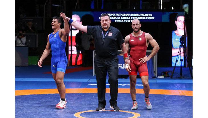 Lotta greco romana, l'imolese Mirco Minguzzi conquista il titolo italiano e il pass per le qualificazioni olimpiche