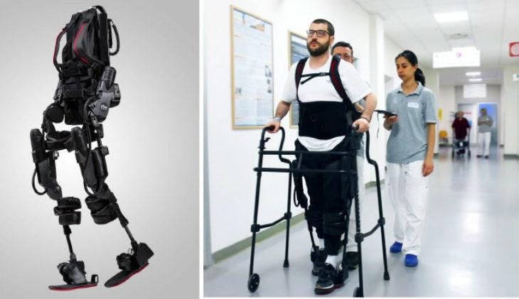 A Montecatone arriva l' «esoscheletro antropomorfo» per aiutare a camminare le persone con lesione spinale