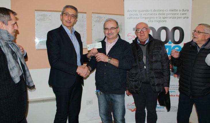 Donazione e visita del Lions Club Imola alla struttura d'accoglienza Casa Guglielmi