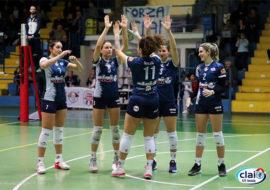 Pallavolo B1 femminile, la Clai Imola fa suo il derby contro Cesena