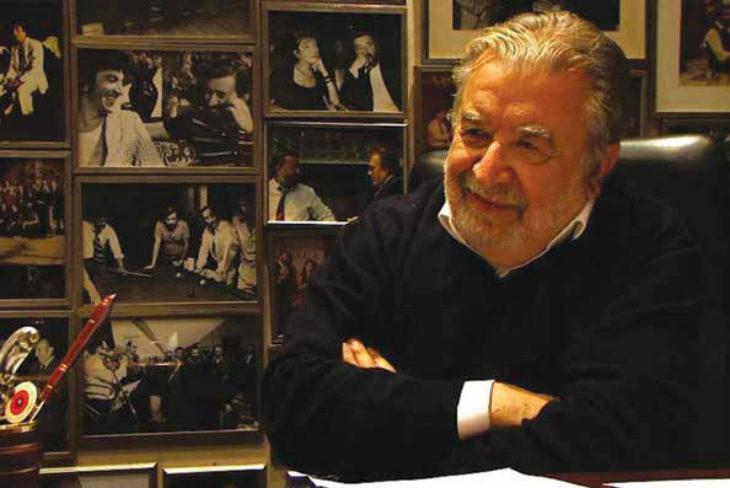 Il regista Pupi Avati a Medicina in occasione della proiezione del suo film «Il signor Diavolo»