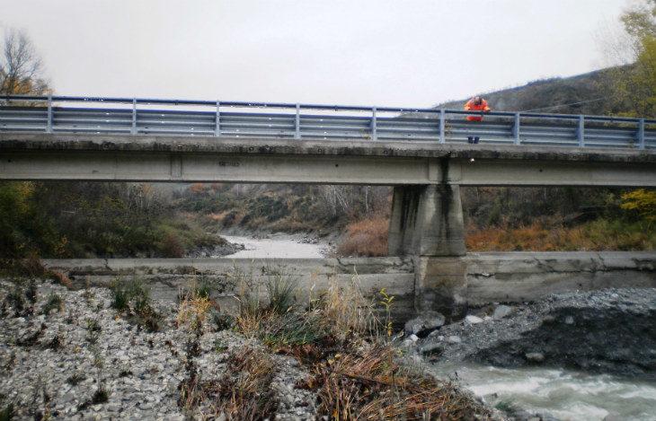 La Regione cofinanzierà la ricostruzione del ponte di Molino Nuovo che era stato demolito nel 2017