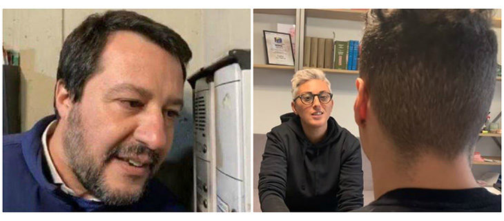 """Bufera sulla citofonata di Salvini, il ragazzo coinvolto era nell'Imolese. L'avvocato: """"Non spaccia, studia e gioca a calcio"""""""