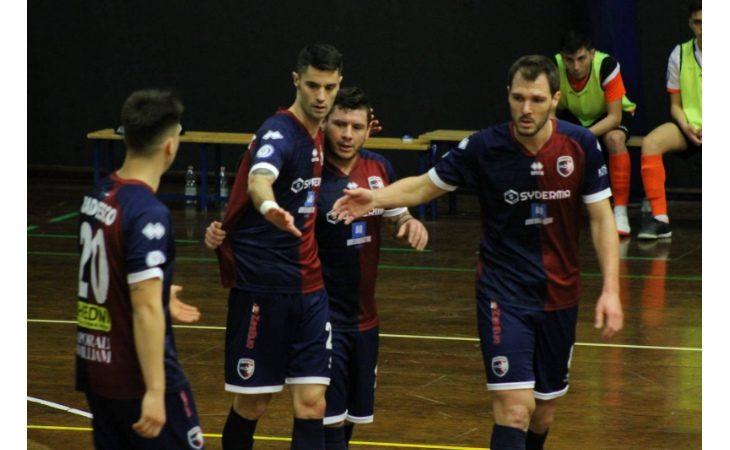 Futsal A2, un'Imolese sempre costretta ad inseguire strappa un pareggio a Massa