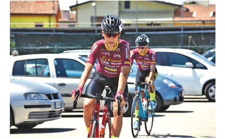 Ciclismo, test azzurri per lo Juniores imolese Matteo Montefiori
